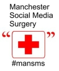 Logo for the Manchester Social Media Surgery