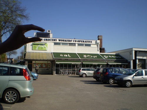 Chorlton's Unicorn Grocery in South Manchester