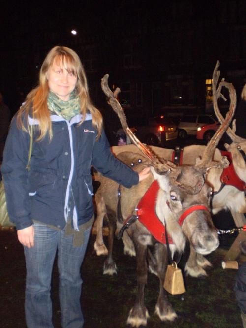 Chorlton Green reindeer