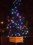 Chorlton Green Christmas tree