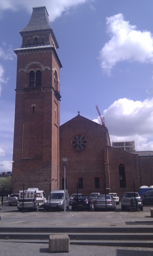 St Peter's Church in the Manchester suburb of Ancoats