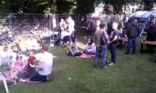 Chorlton Beer and Cider Festival family area