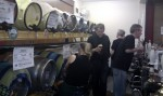 Beer kegs at St Clement's Church