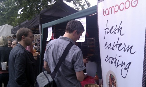 Tampopo food stall in Manchester