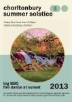 Chorltonbury Summer Solstice poster