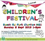 Unity Children's Festival in Chorlton