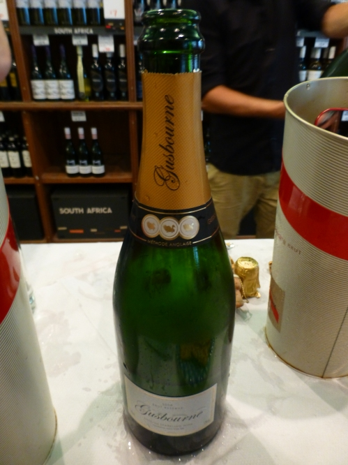 Gusbourne Estate Brut Reserve 2008 bottle