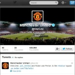 Manchester United FC Twitter account @ManUtd
