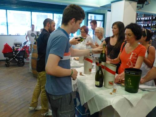 Oddbins Chorlton sparkling wine tasting