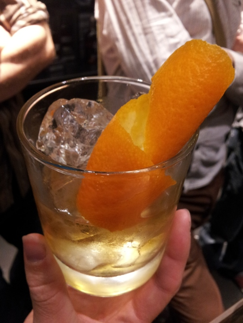 Old Fashioned Bourbon cocktail