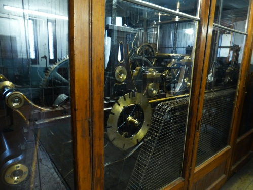 19th century clock mechanism