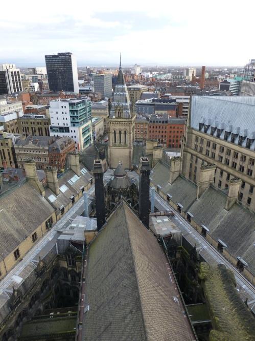 Triangular Manchester Town Hall