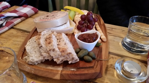 Baked Camembert at The Cellar Key