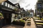 Exterior of the Horse & Jockey pub in Chorlton
