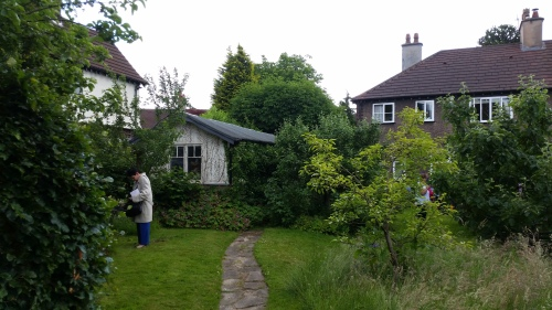 Brookburn Road in Chorlton Open Gardens