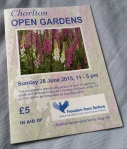 Programme for Chorlton Open Gardens 2015