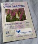 Programme for Chorlton Open Gardens 2015