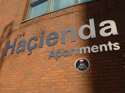 The Hacienda Apartments replaced The Hacienda nightclub