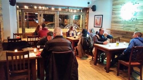 The bar area at Brewski in Chorlton