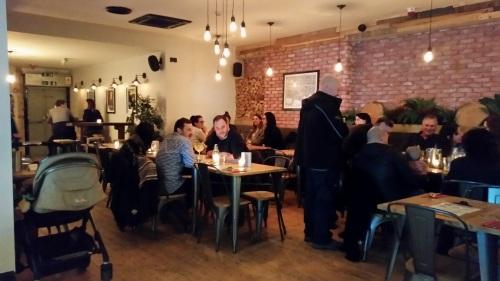 Brewski's restaurant area