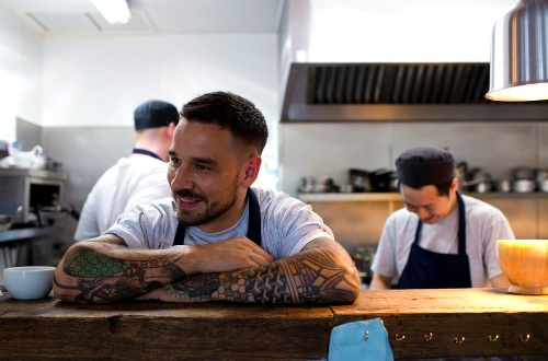 Gary Usher, chef-patron of Burnt Truffle in Heswall