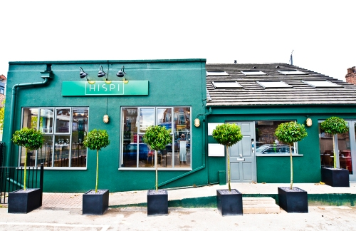 Hispi Bistro on School Lane in Didsbury Village, south Manchester