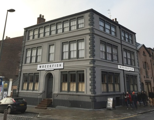 Gary Usher's Liverpool restaurant is provisionally called Wreckfish