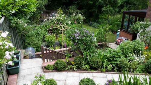 A show garden on Claude Road in Chorltonville