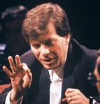 Broadcaster Tony Wilson hosting After Dark in 1988