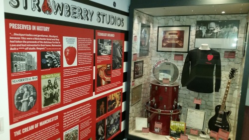 Strawberry Studios Stockport memorabilia