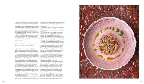 Profile of Mexican celebrity chef Martha Ortiz - pages 3 and 4