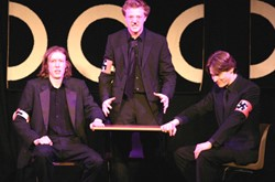 Dublin's H-Bam comedy troupe in action