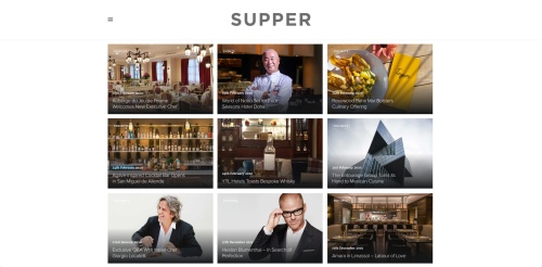 The new Supper magazine website