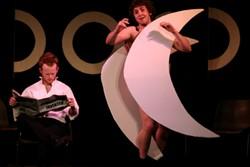 Members of The Durham Revue onstage