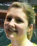 Charity Barnes at the 2007 English National Badminton Championships