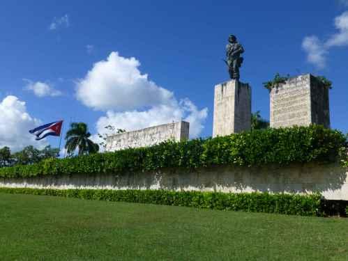 Che Guevara Mausoleum complex in the Cuban city of Santa Clara