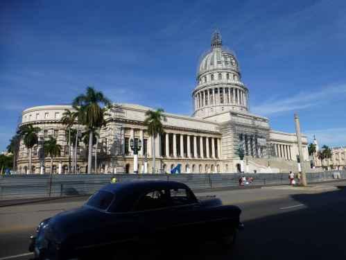 National Capital Building, aka El Capitolio, in Havana