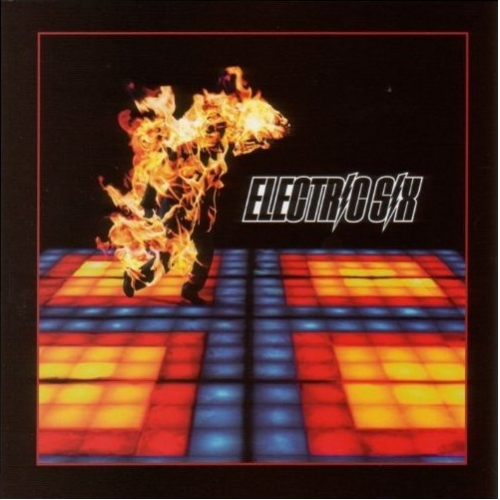 Original artwork for Electric Six's debut LP Fire