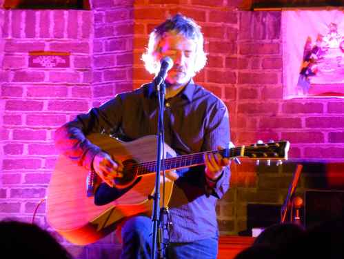 I Am Kloot's John Bramwell performing at the 2013 Chorlton Arts Festival