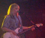 Katie White of The Ting Tings onstage at Manchester Academy on 3 October 2008