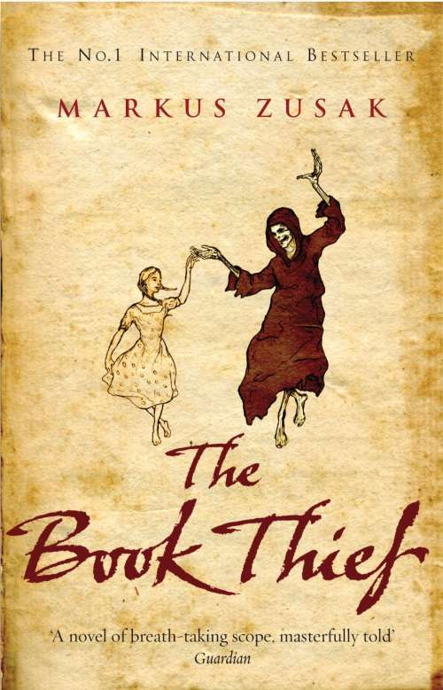 The Book Thief, an award-winning novel by Australian writer Markus Zusak