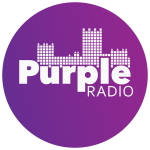 Logo for Purple Radio, Durham University's in-house radio station