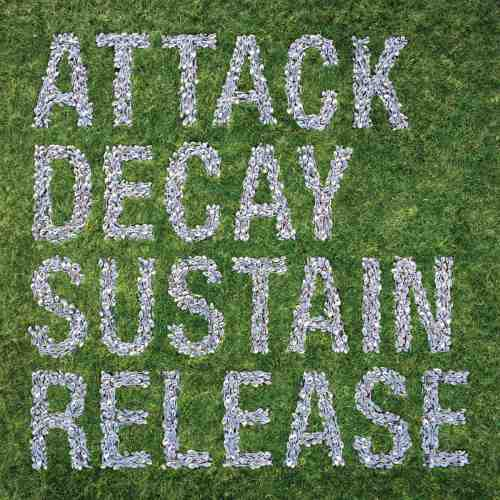 Cover of 2007 Simian Mobile Disco LP Attack Decay Sustain Release